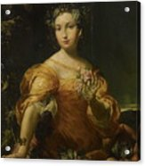 Portrait Of A Lady, Allegory Of Abundantia Acrylic Print