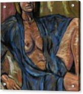 Portrait Of A Lady Acrylic Print