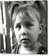 Portrait Of My Little Neighbor Acrylic Print