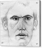 Portrait Of A Man 2 Acrylic Print