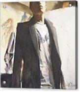 Portrait Of A Prodigy Acrylic Print by Douglas Trowbridge