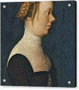 Portrait Of A Woman Acrylic Print