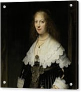 Portrait Of A Woman - Possibly Maria Trip Acrylic Print
