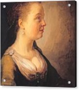 Portrait Of A Young Woman 1640 Acrylic Print