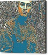 Portrait Of A Young  Wwi Soldier Series 16 Acrylic Print