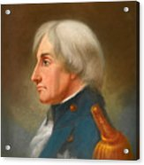 Portrait Of Admiral Lord Nelson Acrylic Print