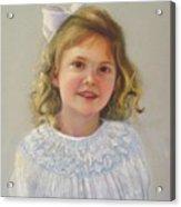 Portrait Of Amy Acrylic Print
