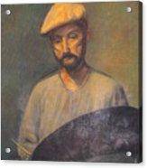 Portrait Of An Artist Acrylic Print