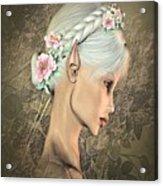 Portrait Of An Elf Acrylic Print