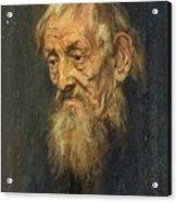 Portrait Of An Old Man 1913 Acrylic Print