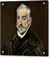 Portrait Of Antonio De Covarrubias Acrylic Print