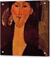 Portrait Of Beatrice Hastings 1915 Acrylic Print