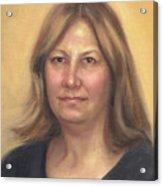 Portrait Of Birdie Acrylic Print