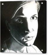 Portrait Of Bridget L. Acrylic Print