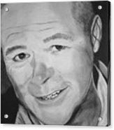 Portrait Of Bryan Cummings Acrylic Print