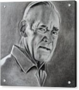 Portrait Of Bud Acrylic Print