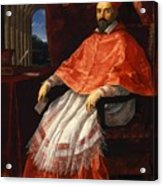 Portrait Of Cardinal Roberto Ubaldini 1625 Acrylic Print