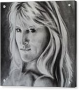 Portrait Of  Carla Acrylic Print