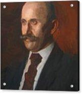 Portrait Of Charles Gruppe 1904 Acrylic Print