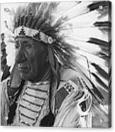 Portrait Of Chief Red Cloud Acrylic Print
