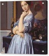 Portrait Of Countess D Haussonville Acrylic Print