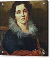 Portrait Of Darya Nikolaevna Chvostova 1814 Acrylic Print