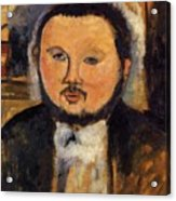 Portrait Of Diego Rivera 1914 Acrylic Print