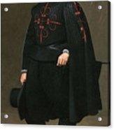 Portrait Of Don Pedro De Barberana Diego Rodriguez De Silva Y Velazquez Acrylic Print