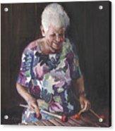 Portrait Of Edwinna Acrylic Print