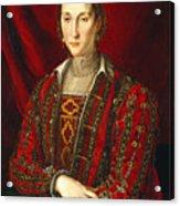 Portrait Of Eleanora Di Toledo Acrylic Print