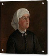 Portrait Of Elseberg Herrestvedt Acrylic Print