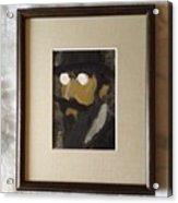 Portrait Of Erik Satie Acrylic Print