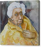 Portrait Of Eudora Welty   Acrylic Print