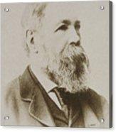Portrait Of Friedrich Engels Acrylic Print