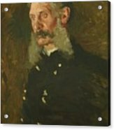 Portrait Of General E Burd Grubb Acrylic Print