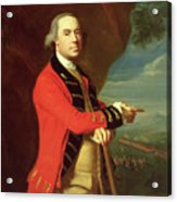 Portrait Of General Thomas Gage Acrylic Print by John Singleton Copley
