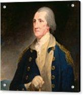 Portrait Of George Washington Acrylic Print