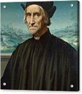Portrait Of Girolamo Benivieni Acrylic Print