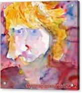 Portrait Of Graham Acrylic Print