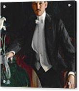 Portrait Of Harald Bildt Acrylic Print