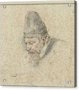 Portrait Of Henry Avercamp Acrylic Print