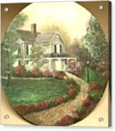 Portrait Of Home Acrylic Print