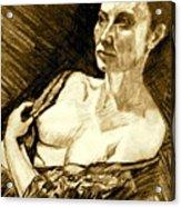 Portrait Of Jacqueline Acrylic Print