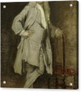 Portrait Of Jan Lepeltak Acrylic Print