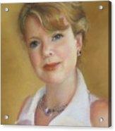 Portrait Of Jeanie Acrylic Print