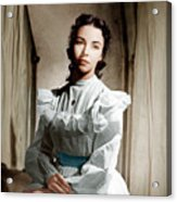 Portrait Of Jennie, Jennifer Jones, 1948 Acrylic Print