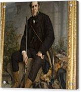 Portrait Of John Bowes Acrylic Print