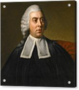 Portrait Of John Lee Attorney-general Wearing Legal Robes Acrylic Print