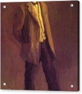 Portrait Of John Mclure Hamilton 1895 Acrylic Print