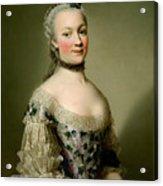 Portrait Of Katarzyny Z Zamoyskich Mniszchowej Acrylic Print